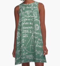 Mathlete Geek Formulas A-Line Dress
