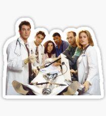 ER Original Cast Sticker
