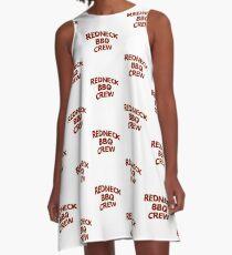 Redneck BBQ Crew A-Line Dress