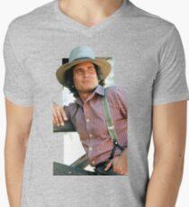 Charles Ingalls Men's V-Neck T-Shirt