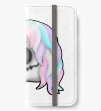 My Little Dead Unicorn | Rainbow Unicorn Skull | White iPhone Wallet/Case/Skin