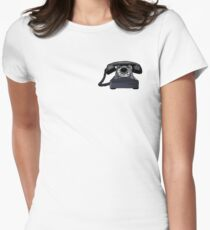 telephone Women's Fitted T-Shirt