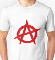 Anarchy Shirt Slim Fit T-Shirt