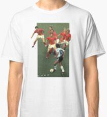 Maradona gegen Belgien Classic T-Shirt