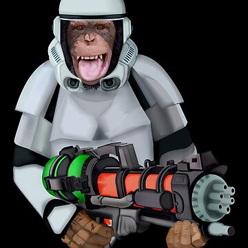 monkey troopers iPhone 4 4s 5 5c 6 7, pillow case, mugs, tshirt etc by GreenLight08