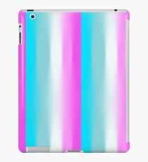 Blue to White to Purple  iPad Case/Skin