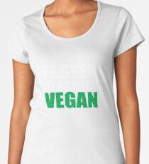 Faster Stronger Vegan Women's Premium T-Shirt