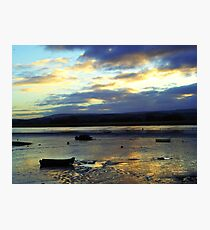 Dusk in Topsham Photographic Print