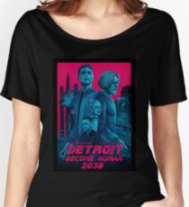 Detroit Become Human 2038 Women's Relaxed Fit T-Shirt