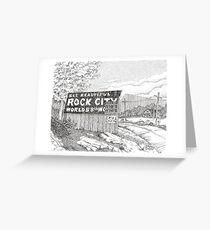Rock City Barn Greeting Card