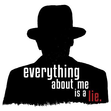 everything about me is a lie. by rckmniac