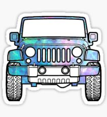 Opal Jeep Sticker