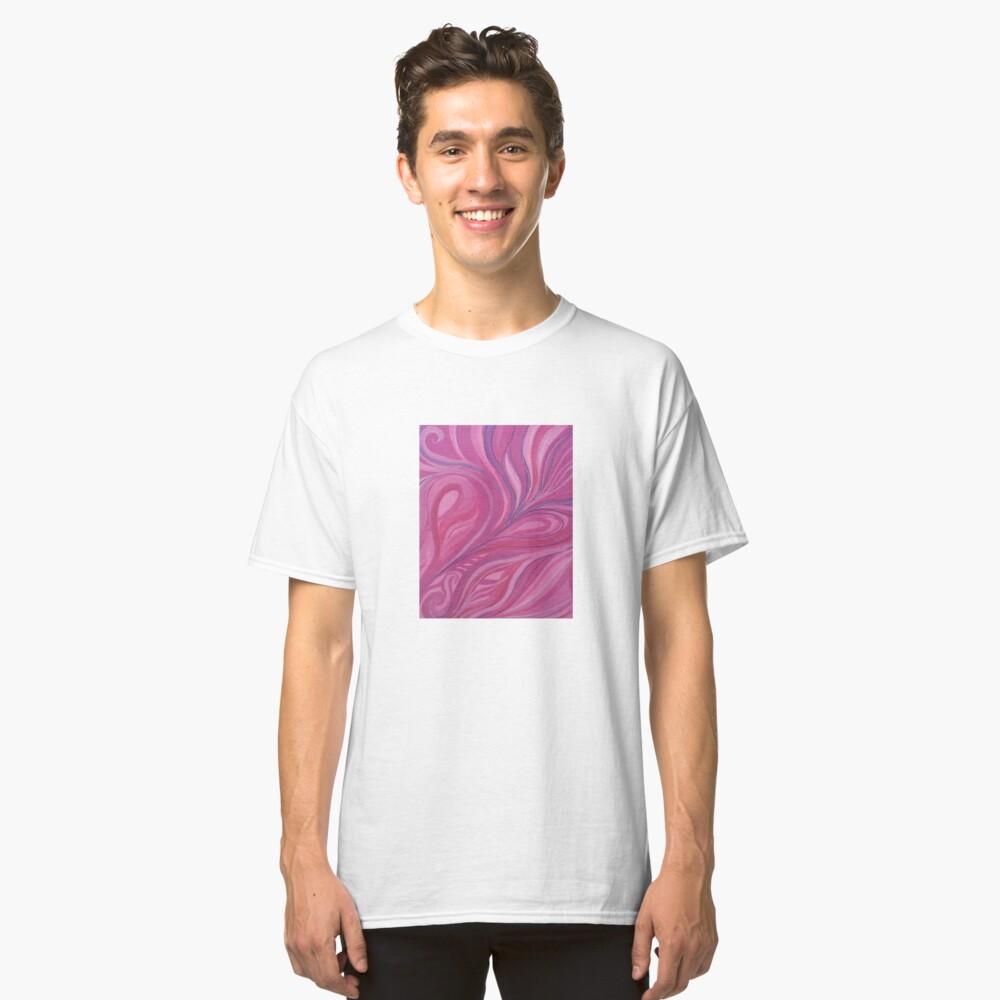 Rosado Camiseta clásica