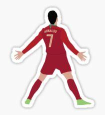 Pegatina Celebración de la Copa Mundial de Ronaldo