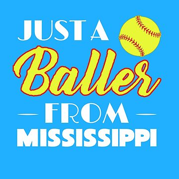 Just A Baller From Mississippi by KaylinArt