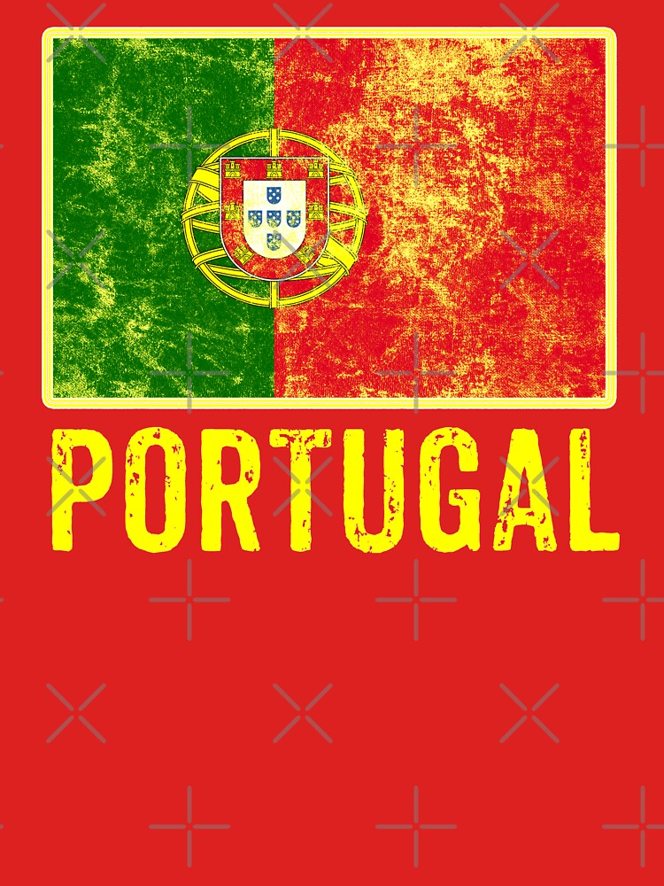 Portugal Flag Love Portuguese Pride Patriot  by thespottydogg
