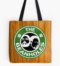 The Beanholes Woodgrain Tote Bag