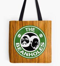 The Beanholes Woodgrain Tote Bag