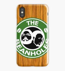 The Beanholes Woodgrain iPhone X Case