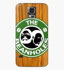 The Beanholes Woodgrain Case/Skin for Samsung Galaxy
