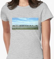 Navajo Nation Horses Women's Fitted T-Shirt