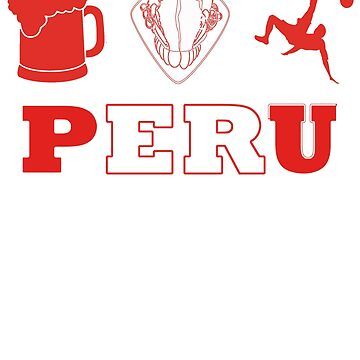 Ceviche Beer Soccer Peruvian pride by Luisombra
