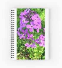 Playful Purple Spiral Notebook