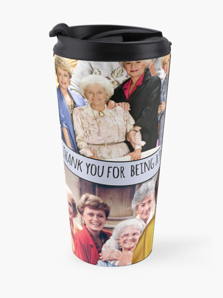 Alternate view of golden girls Travel Mug