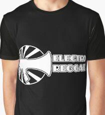 Electro Reggae Logo - White Graphic T-Shirt
