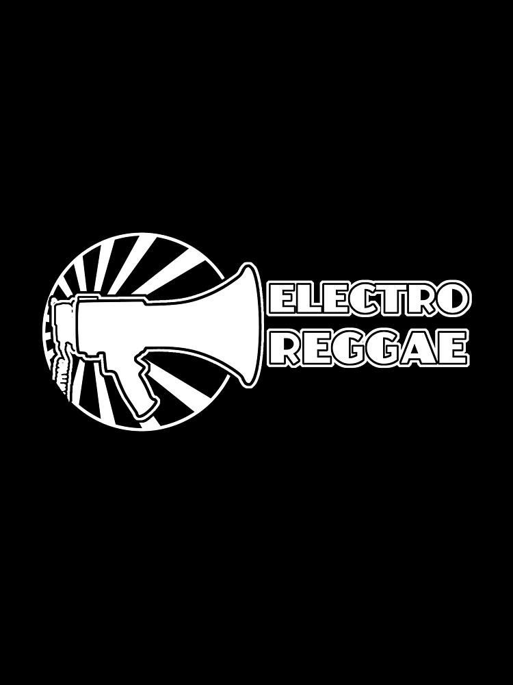 Electro Reggae Logo - White by mczulu