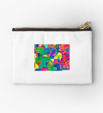 Abstract pattern digital painting electronic love Studio Pouch