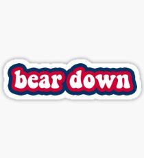 Bear Down - University of Arizona Sticker