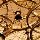 Bicycle Rims by Virginia Maguire