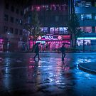 Tokyo Midnight Rain by Guillaume Marcotte