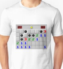 Minesweeper Windows XP Retro Game Unisex T-Shirt