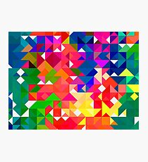 Abstract pattern digital painting electronic love no3 Photographic Print