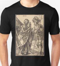 Albrecht Dürer or Durer Death and the Lansquenet Unisex T-Shirt