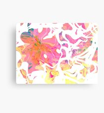 Abstract pattern digital painting electronic love no5 Metal Print