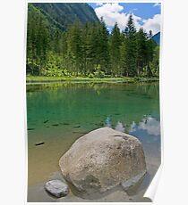 Lake Blausee Poster
