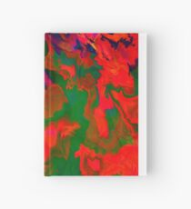 Abstract pattern digital painting electronic love no6 Hardcover Journal