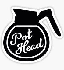 Pegatina Pothead