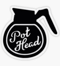 Pothead Transparent Sticker