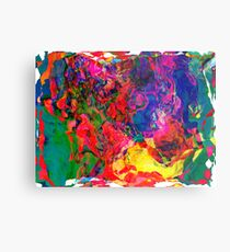 Abstract pattern digital painting electronic love no7 Metal Print