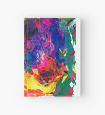 Abstract pattern digital painting electronic love no7 Hardcover Journal