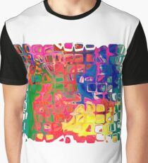 Abstract pattern digital painting electronic love no8 Graphic T-Shirt