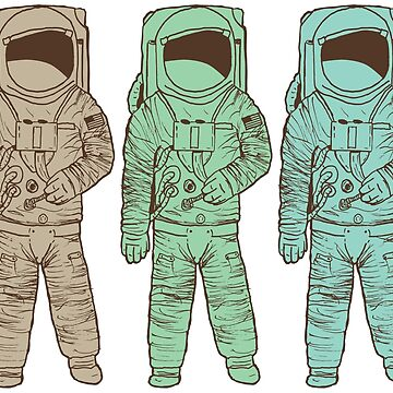 Astronaut by WCGross