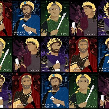 Five Good Roman Emperors by flaroh