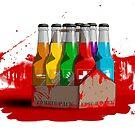 Zombie 8-Pack Bloodied by TalkThatTalk