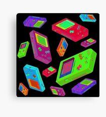 Gameboy Graphics Canvas Print