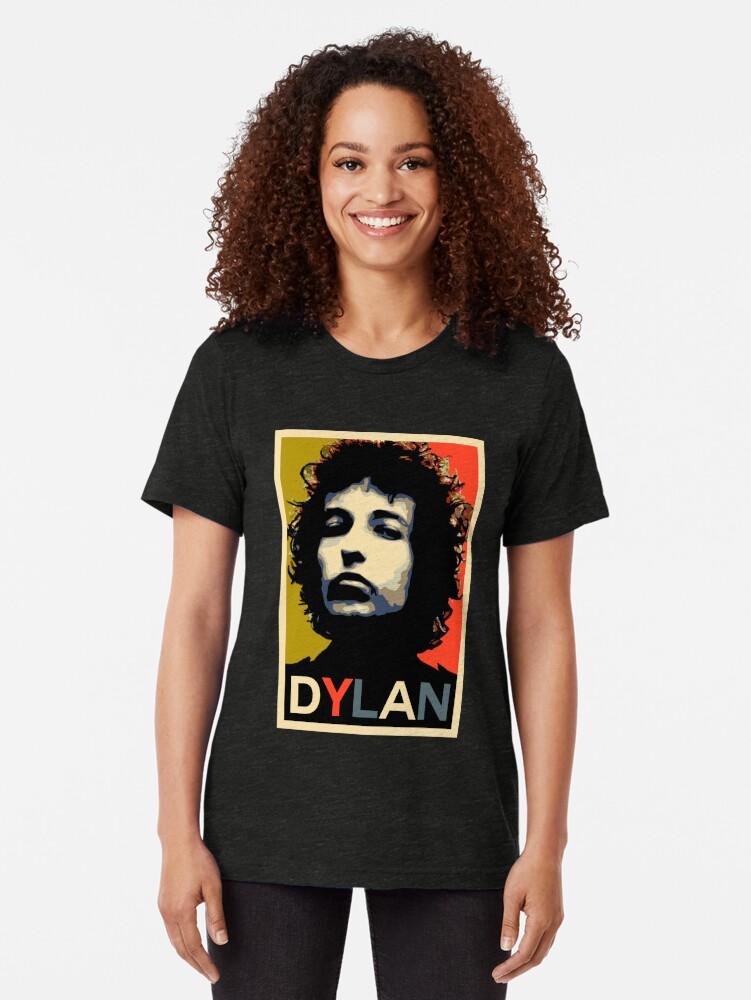 Vista alternativa de Camiseta de tejido mixto Dylan